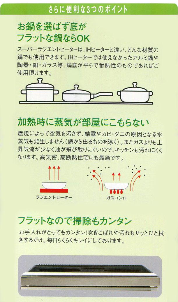 MFGスーパーラジエントヒーター 機能説明1
